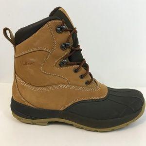 LL Bean Mens Duck Boots Size 9 M Waterproof